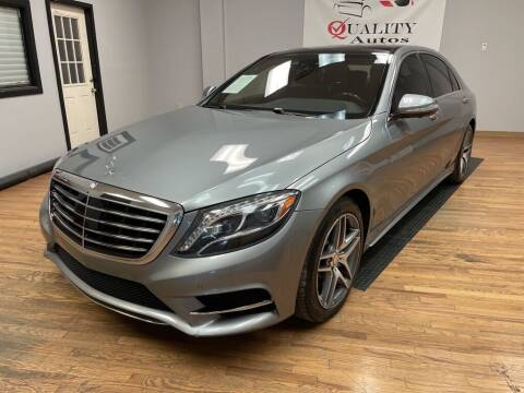 2014 Mercedes-Benz S-Class for sale at Quality Autos in Marietta GA