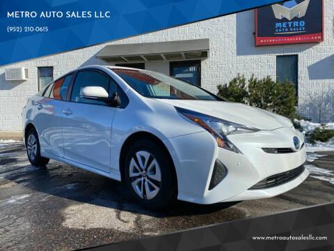 2017 Toyota Prius for sale at METRO AUTO SALES LLC in Blaine MN
