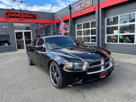 2014 Dodge Charger for sale at Goodfella's  Motor Company in Tacoma WA