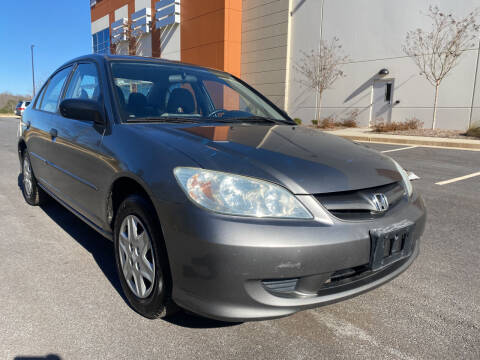 2005 Honda Civic for sale at ELAN AUTOMOTIVE GROUP in Buford GA