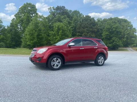 2013 Chevrolet Equinox for sale at GTO United Auto Sales LLC in Lawrenceville GA