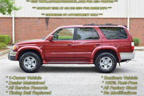 2002 Toyota 4Runner for sale at Automotion Of Atlanta in Conyers GA