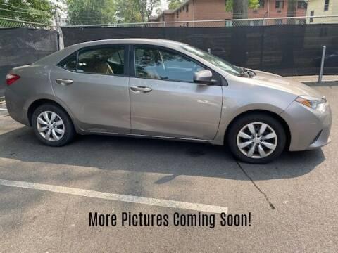 2014 Toyota Corolla for sale at Warner Motors in East Orange NJ