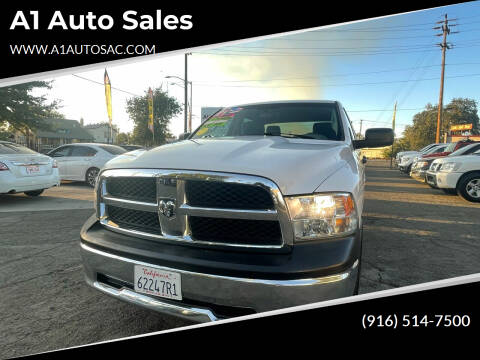 2012 RAM Ram Pickup 1500 for sale at A1 Auto Sales in Sacramento CA
