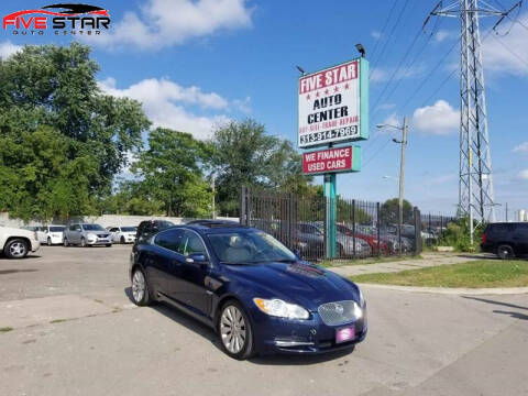2009 Jaguar XF for sale at Five Star Auto Center in Detroit MI