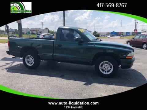 1999 Dodge Dakota for sale at Auto Liquidation in Springfield MO