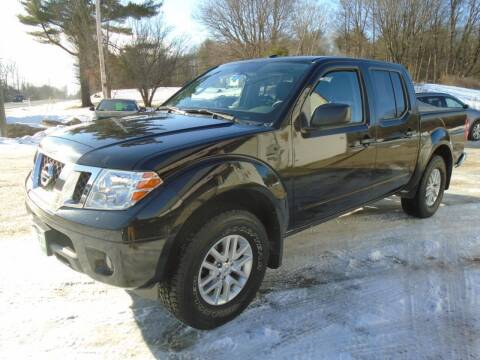 2014 Nissan Frontier for sale at Wimett Trading Company in Leicester VT