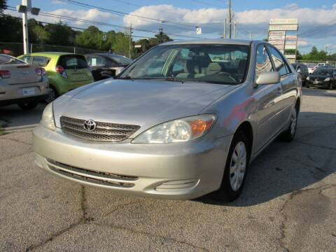 2003 Toyota Camry for sale at King of Auto in Stone Mountain GA