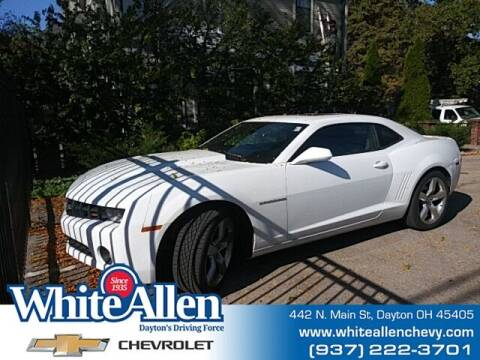2011 Chevrolet Camaro for sale at WHITE-ALLEN CHEVROLET in Dayton OH