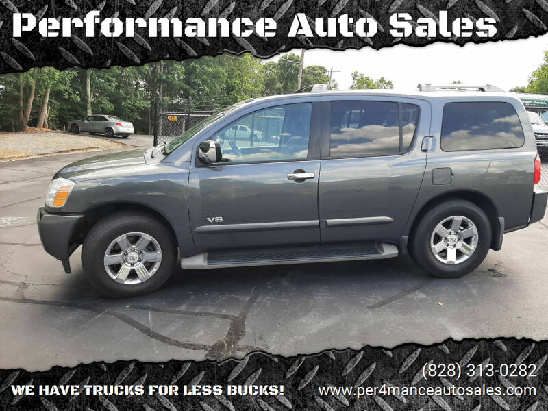 2007 Nissan Armada for sale at Performance Auto Sales in Hickory NC