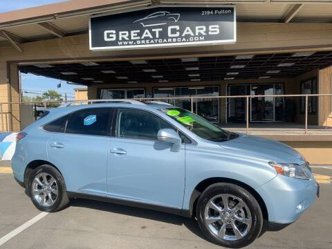 2011 Lexus RX 350 for sale at Great Cars in Sacramento CA