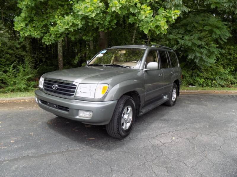2002 Toyota Land Cruiser for sale at S.S. Motors LLC in Dallas GA