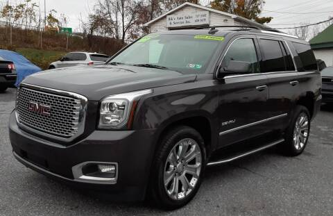 2017 GMC Yukon for sale at Bik's Auto Sales in Camp Hill PA