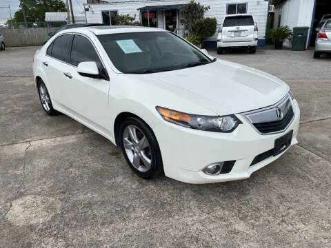 2011 Acura TSX for sale at AMERICAN AUTO COMPANY in Beaumont TX