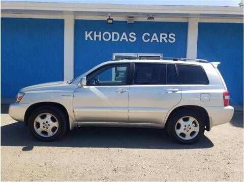 2004 Toyota Highlander for sale at Khodas Cars in Gilroy CA