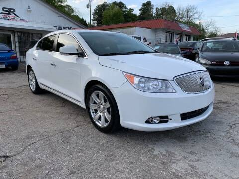 2011 Buick LaCrosse for sale at SR Motors Inc in Gainesville GA