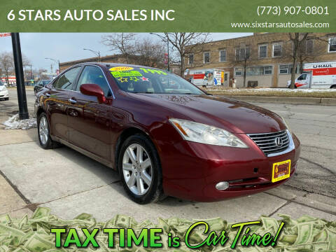 2008 Lexus ES 350 for sale at 6 STARS AUTO SALES INC in Chicago IL