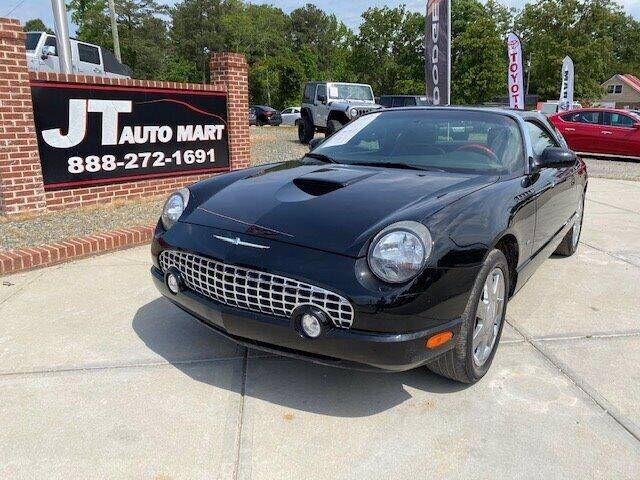2002 Ford Thunderbird for sale at J T Auto Group in Sanford NC