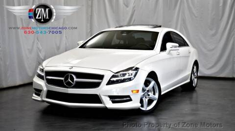 2013 Mercedes-Benz CLS for sale at ZONE MOTORS in Addison IL