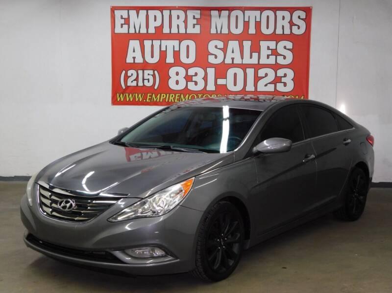 2011 Hyundai Sonata for sale at EMPIRE MOTORS AUTO SALES in Philadelphia PA