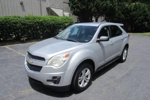 2011 Chevrolet Equinox for sale at Key Auto Center in Marietta GA