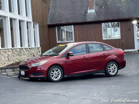 2016 Ford Focus for sale at Cupples Car Company in Belmont NH