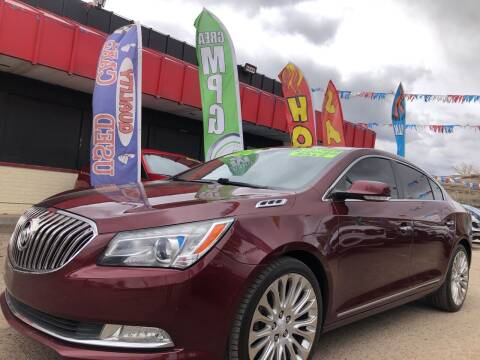 2014 Buick LaCrosse for sale at Duke City Auto LLC in Gallup NM
