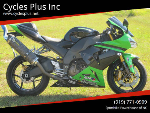 2005 Kawasaki Ninja ZX-10R for sale at Cycles Plus Inc in Garner NC