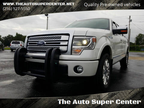 2014 Ford F-150 for sale at The Auto Super Center in Centre AL