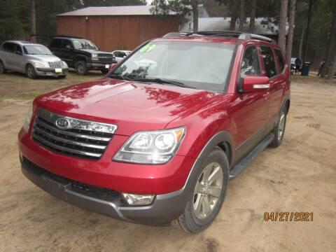 2009 Kia Borrego for sale at SUNNYBROOK USED CARS in Menahga MN