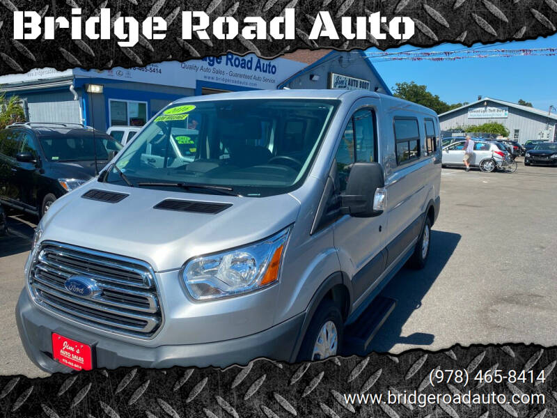 2016 Ford Transit Cargo for sale at Bridge Road Auto in Salisbury MA
