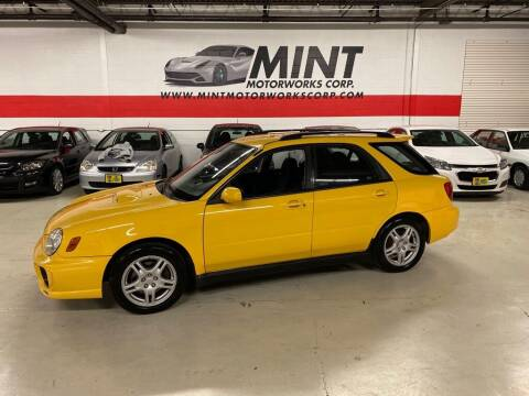 2003 Subaru Impreza for sale at MINT MOTORWORKS in Addison IL