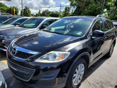 2010 Mazda CX-9 for sale at America Auto Wholesale Inc in Miami FL