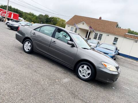 2002 Toyota Camry for sale at New Wave Auto of Vineland in Vineland NJ