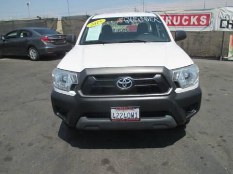 2015 Toyota Tacoma for sale at Quick Auto Sales in Modesto CA