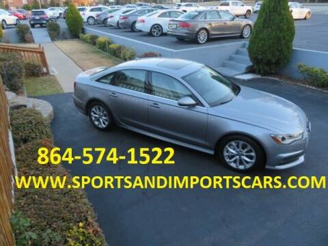 2017 Audi A6 for sale at Sports & Imports INC in Spartanburg SC