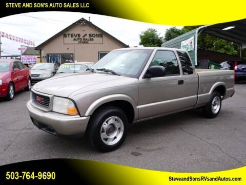 2000 GMC Sonoma for sale at Steve & Sons Auto Sales in Happy Valley OR