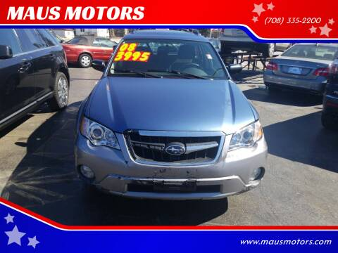 2008 Subaru Outback for sale at MAUS MOTORS in Hazel Crest IL