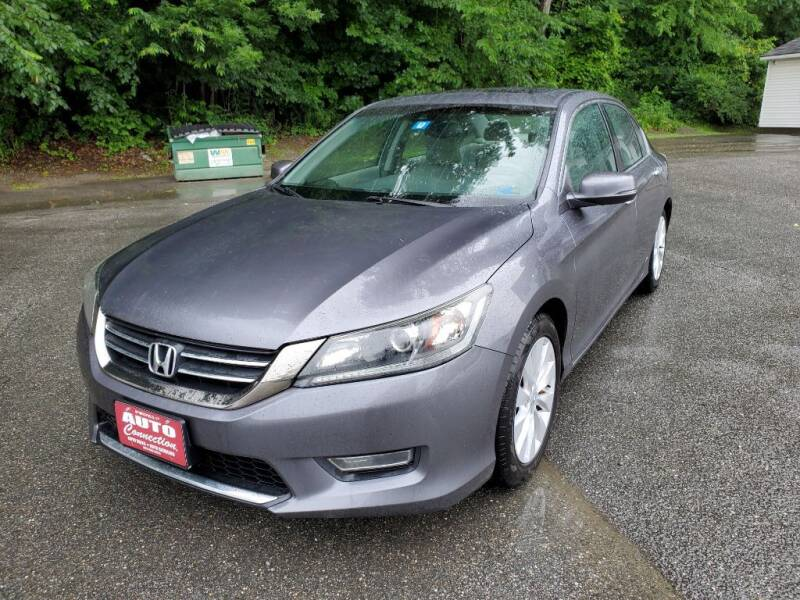 2013 Honda Accord for sale at AUTO CONNECTION LLC in Springfield VT