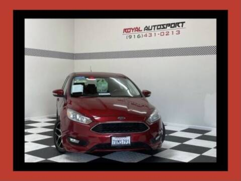 2016 Ford Focus for sale at Royal AutoSport in Sacramento CA