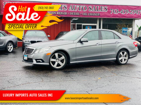 2011 Mercedes-Benz E-Class for sale at LUXURY IMPORTS AUTO SALES INC in North Branch MN