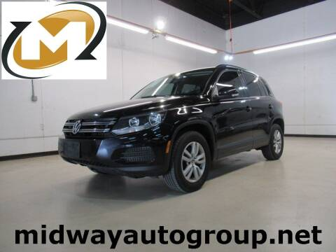 2017 Volkswagen Tiguan for sale at Midway Auto Group in Addison TX