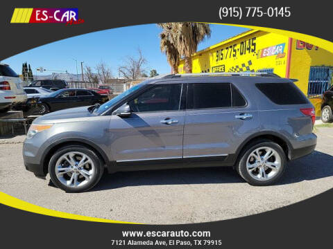 2013 Ford Explorer for sale at Escar Auto in El Paso TX