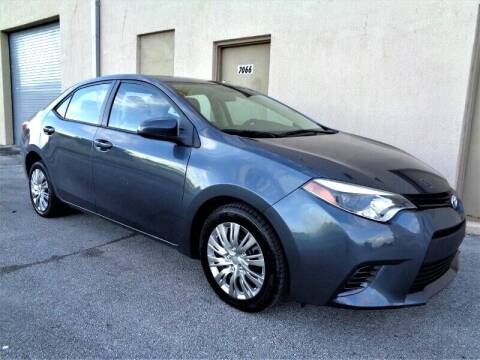 2015 Toyota Corolla for sale at Selective Motor Cars in Miami FL