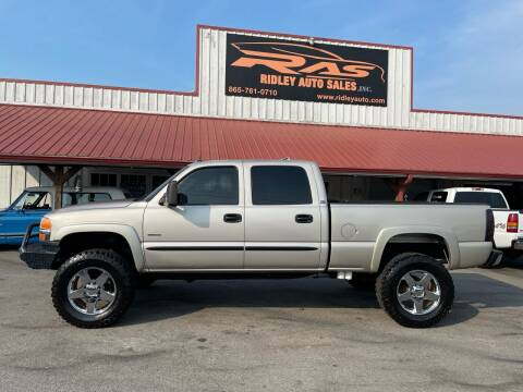 2005 GMC Sierra 2500HD for sale at Ridley Auto Sales, Inc. in White Pine TN