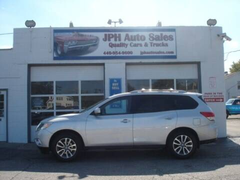 2014 Nissan Pathfinder for sale at JPH Auto Sales in Eastlake OH