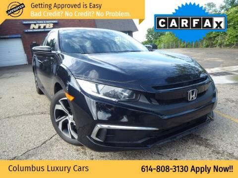 2019 Honda Civic for sale at Columbus Luxury Cars in Columbus OH