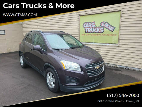 2016 Chevrolet Trax for sale at Cars Trucks & More in Howell MI