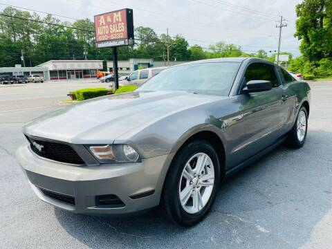 2011 Ford Mustang for sale at A & M Auto Sales, Inc in Alabaster AL
