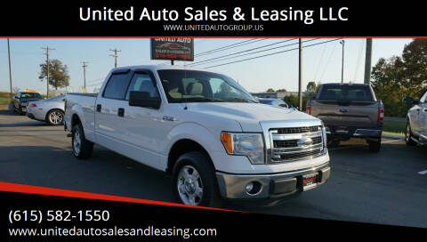 2013 Ford F-150 for sale at United Auto Sales & Leasing LLC in La Vergne TN